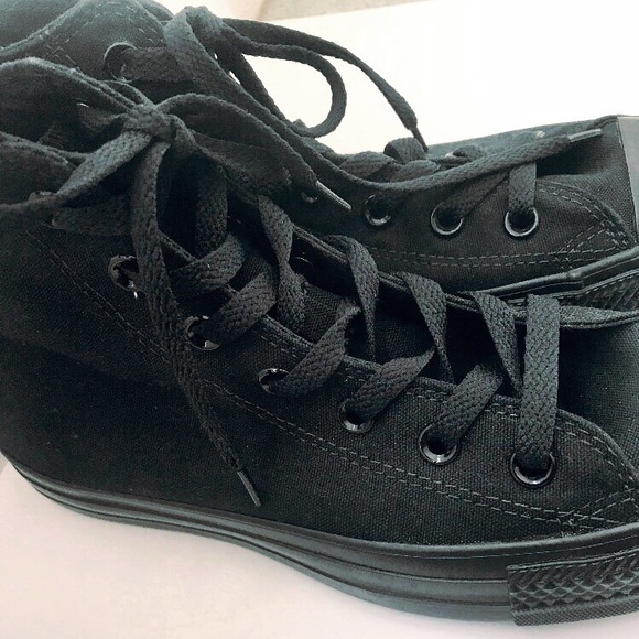 Converse Shoes | Plain Black High Top